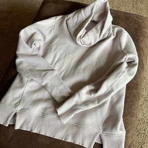 Athleta funnel neck sweatshirt